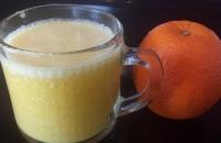 柳橙蔬果汁食譜-健康柳橙香蕉蔬果汁料理:柳橙香蕉蔬果汁功效清宿便減肥!