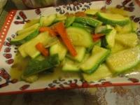 簡易家常菜素炒櫛瓜食譜-健康家常菜櫛瓜料理:舒食炒櫛瓜吃出天然美味!
