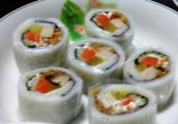 河粉壽司捲食譜做法-健康河粉壽司捲料理:河粉壽司捲是健康飲食新選擇!
